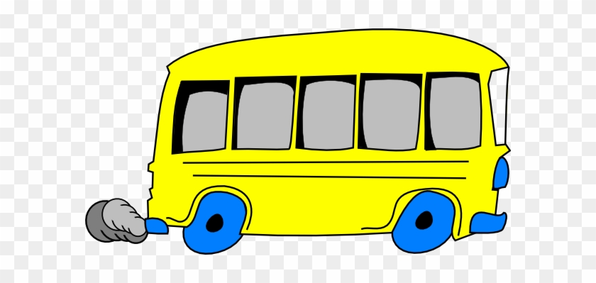 Bus Animated Clipart Cartoon Picture Of A Free Download - Yellow School Bus Clipart #82805