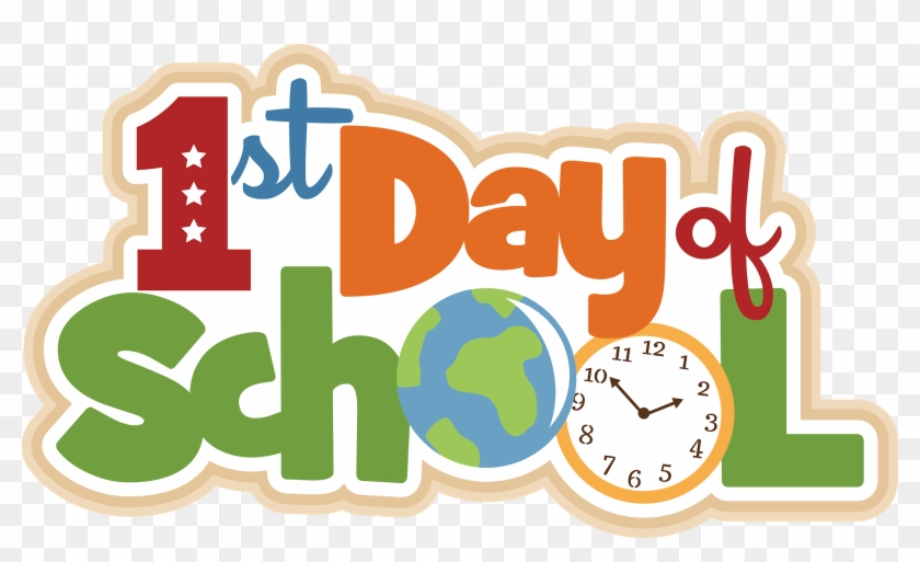 Philosophy Clipart First Day School - First Day Of School 2017 2018 #82960