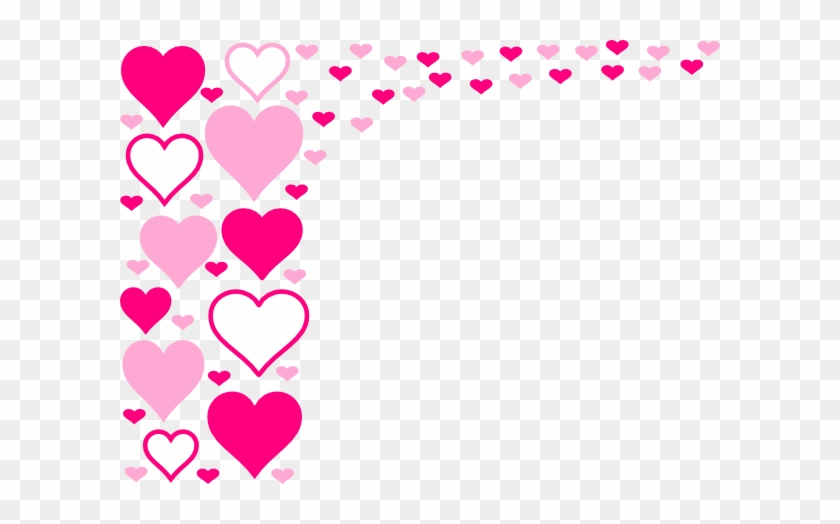 Border Design Pink Heart #83044