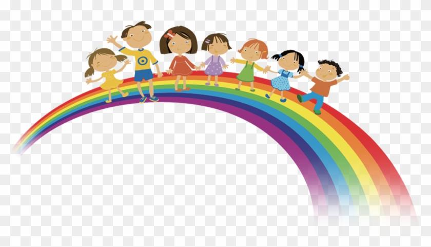 Child Download Clip Art - Дети На Радуге Пнг #83158