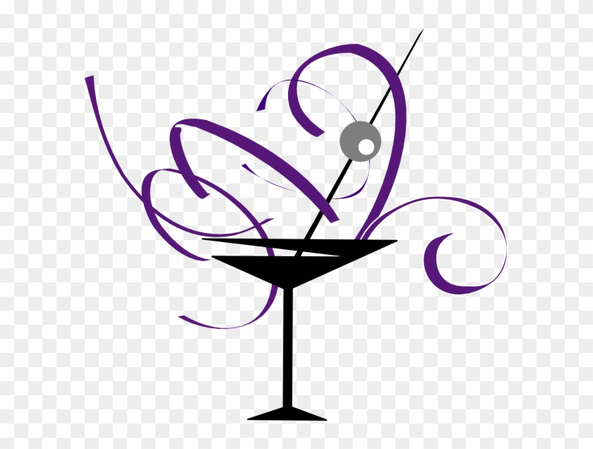 Bachelorette Clipart Craft Projects Celebrations - Cocktail Glass Clip Art #83709