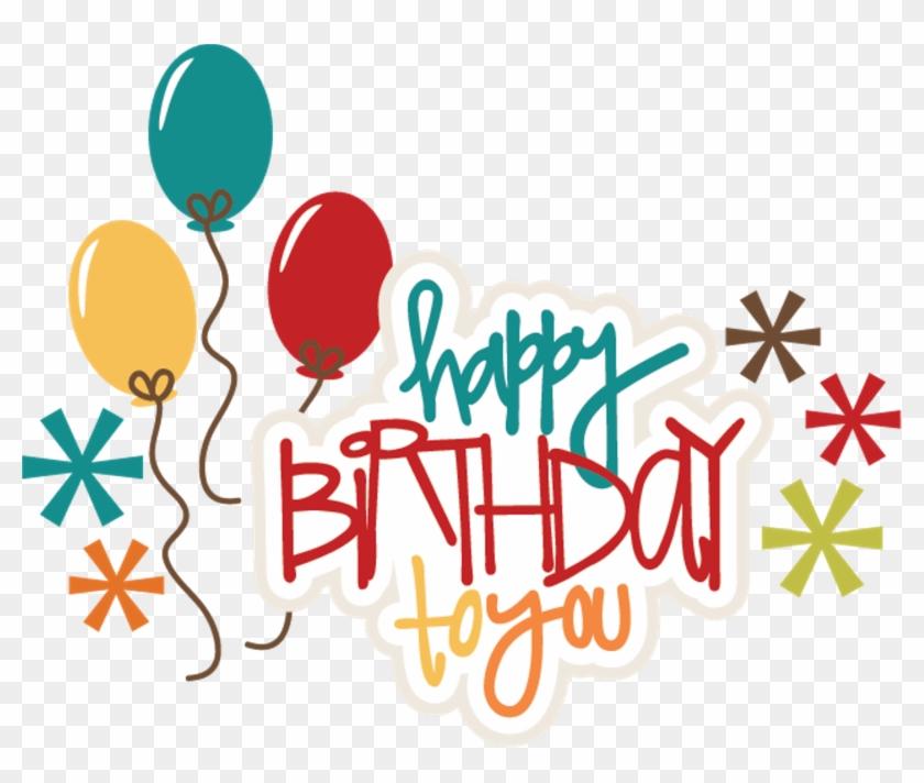 Celebration Clipart Birthday Stuff - Happy Birthday Png #83809