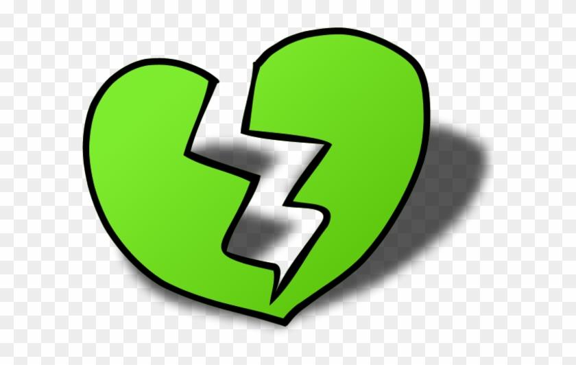 Broken Heart Cliparts - Broken Heart Clip Art #83985