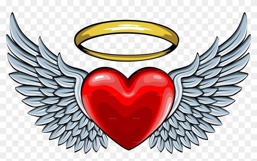 Clipart Heart And Angel Images Unlimited Clipart Design