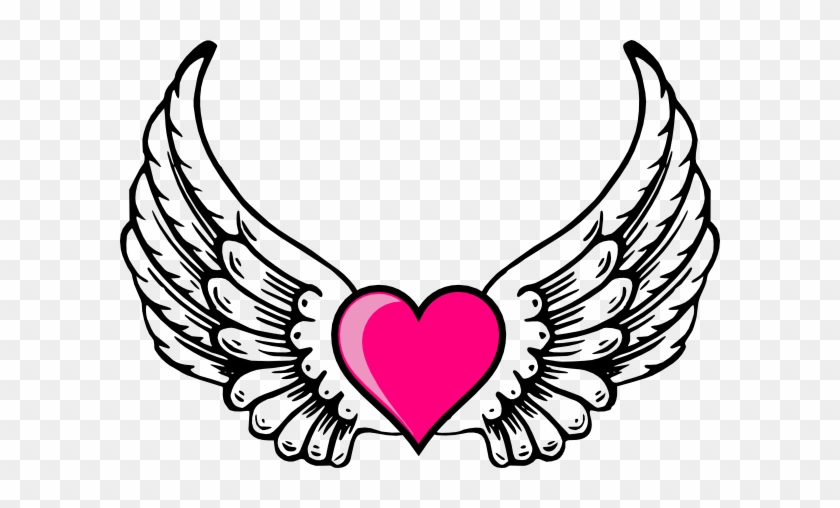 Draw A Heart With Wings #84082