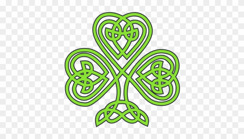 Celtic Shamrock Treehugger Peace Saint Patricks Day - St Patricks Day Celtic #84086