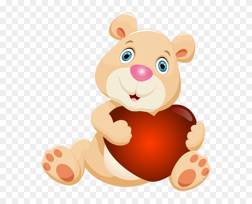 Teddy Bear Clipart Heart Clip Art - Birthday Wishes For Ex Friend #84109