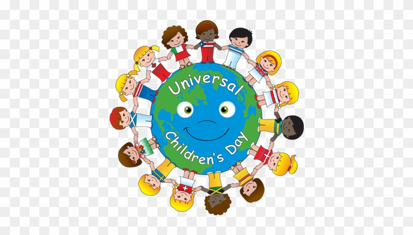 Clip Art Of Universal Children's Day - Day Of The Child #84561