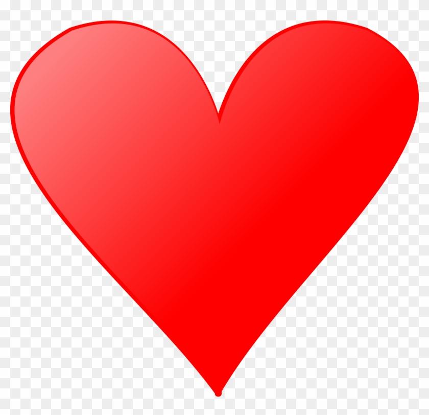 Cards Clipart Heart - Heart Card Symbol #84604