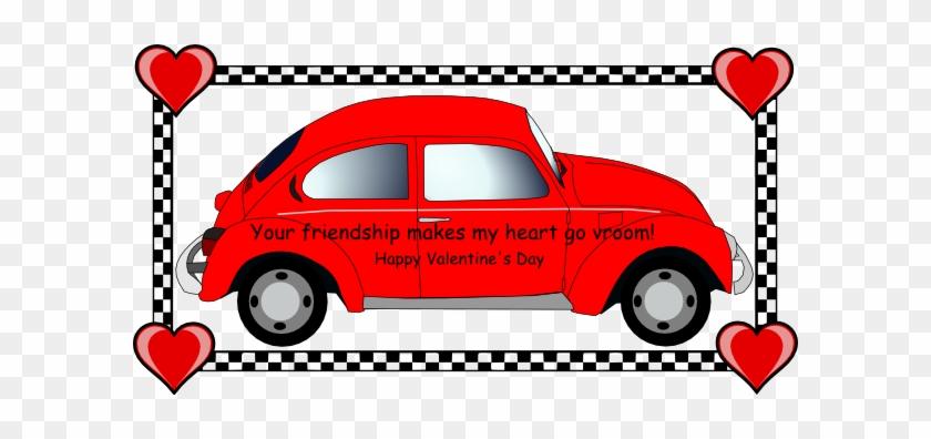 Vw Valentine Clip Art - Volkswagen Valentine #84652