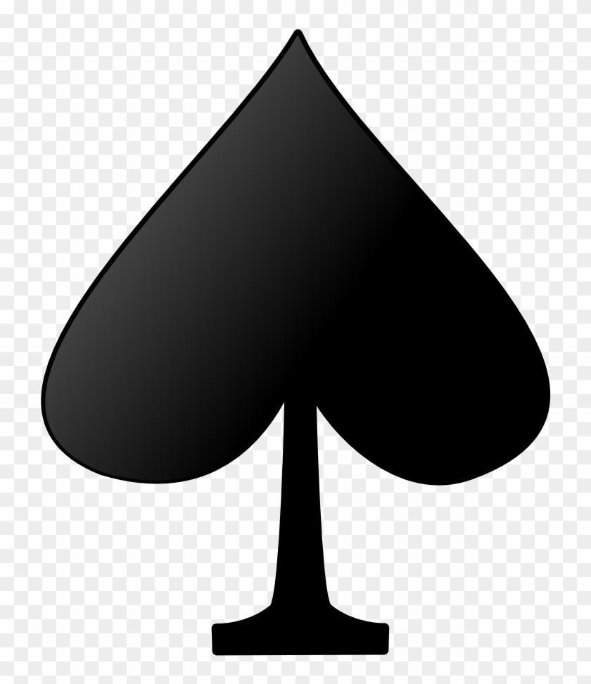 Deck Of Card Spades #84665