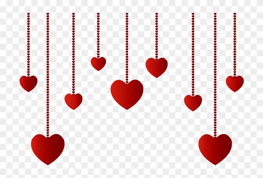Valentine ~ Card Splendi Google Valentines Day Games - Hanging Hearts Png #84676