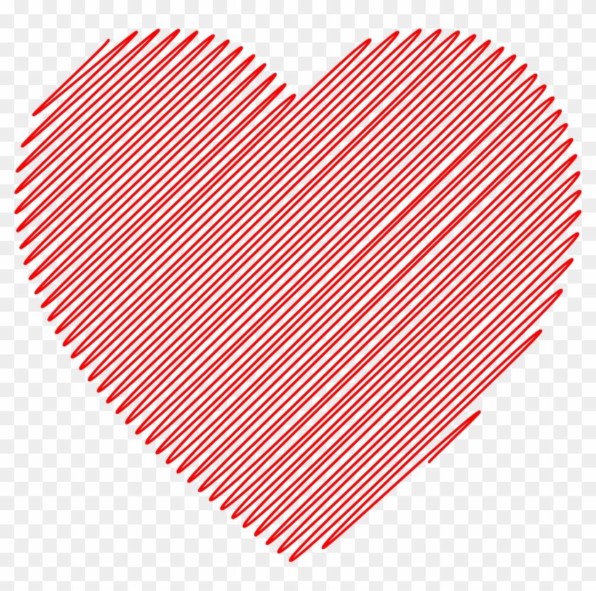 13 U0026gt Doodled Heart Clip Art - Heart Vintage Clip Art #84709
