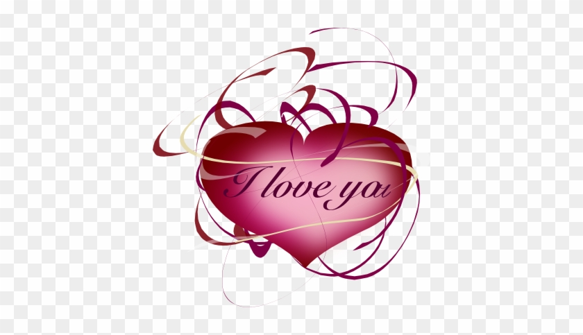 Free Heart Clipart Valentine I Love You Heart, Echo's - You're Mine, Only Mine #84760