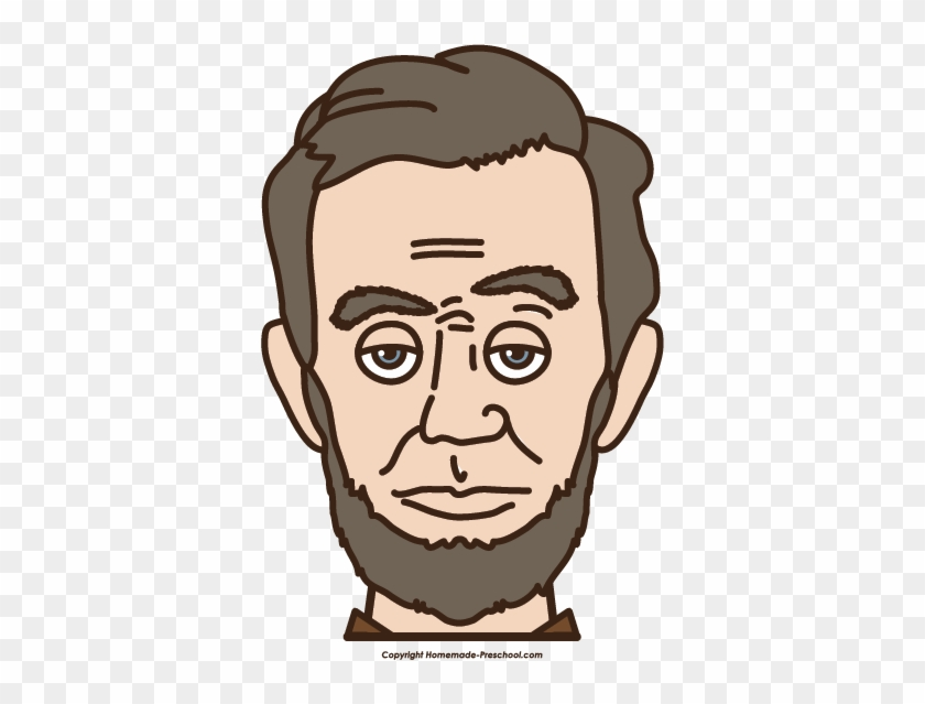President Clipart - Abraham Lincoln's Face Transparent #84804