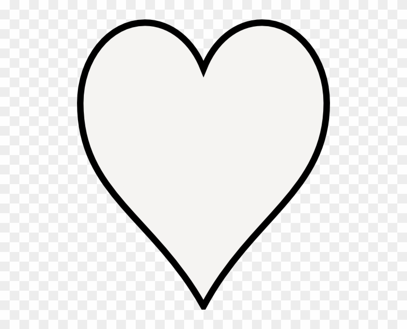 How To Set Use Heart- Outline Svg Vector - Heart Icon Png White #84814