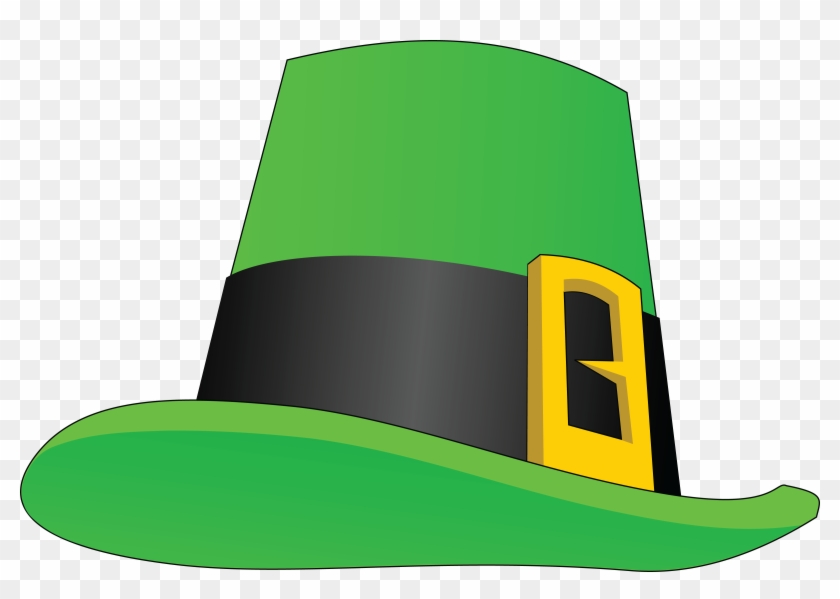 Free Clipart Of A St Paddys Day Leprechaun Hat - Leprechaun Hat Clip Art #84870