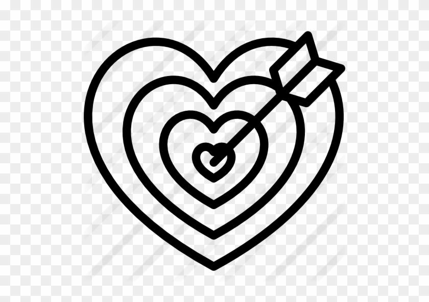 Heart Shaped Dart Board