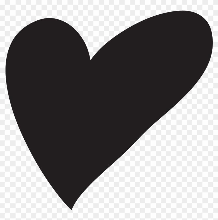 Hand Drawn Heart-shaped Vector - Heart Hand Drawn Png #84978