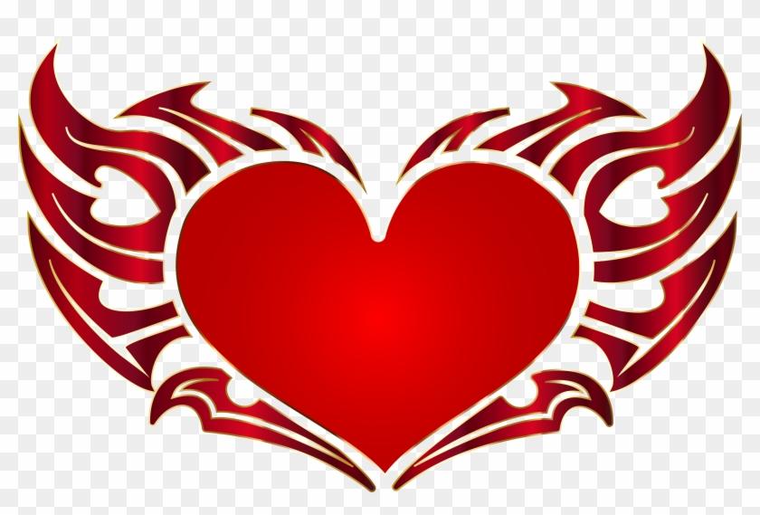 Cozy Ideas Heart No Background Tribal Enhanced Icons - Tribal Heart #84983