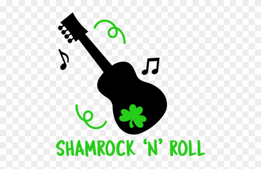 Shamrock And Roll - Guitar St Patty's Day #85016