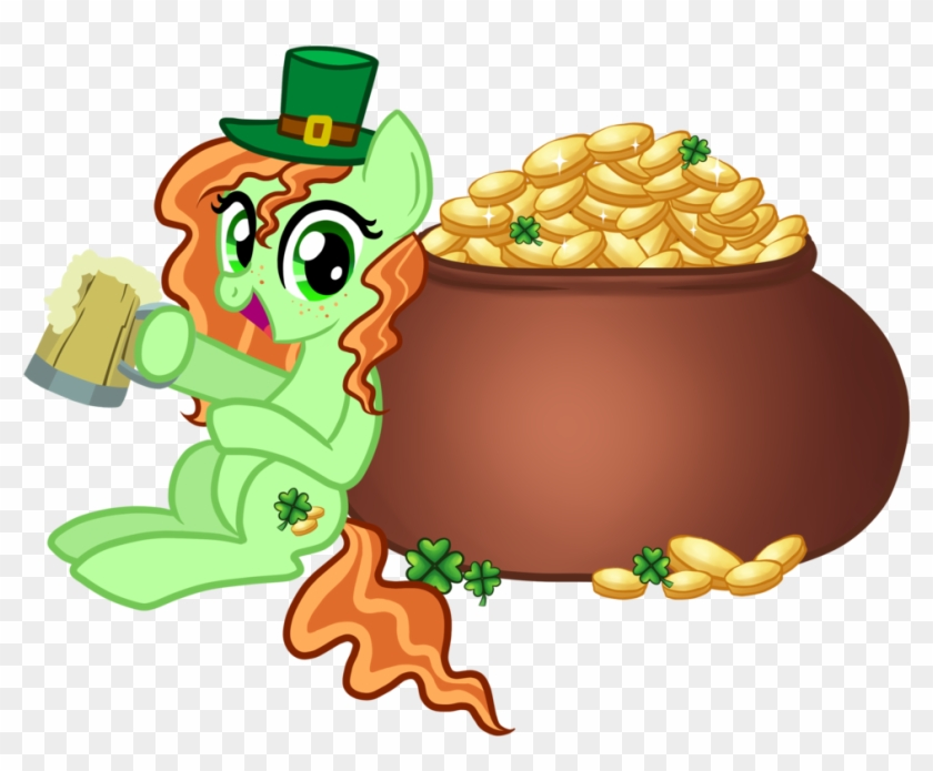 Patrick's Day Pony By Thecheeseburger - Mlp St Patrick's Day #85018