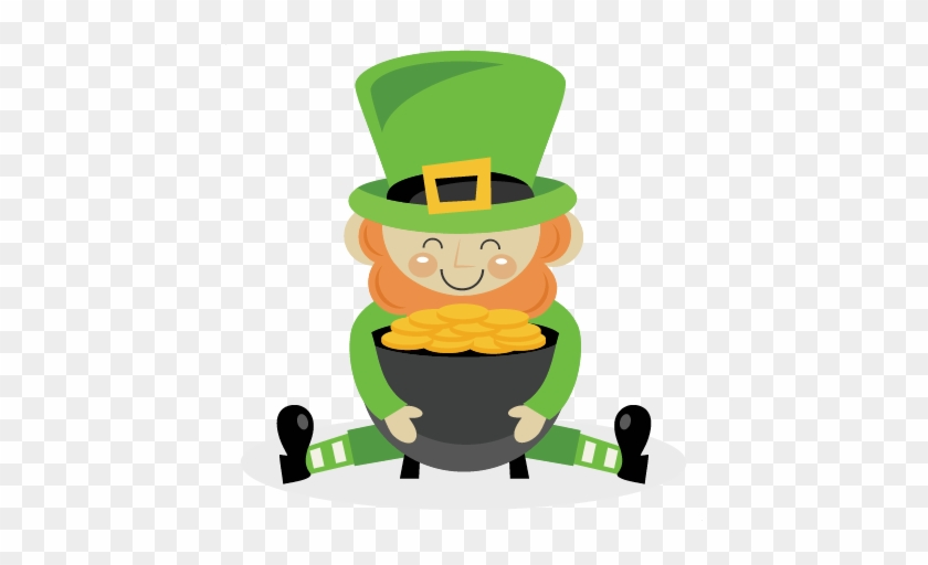 Leprechaun Svg Scrapbook Cut File Cute Clipart Files Leprechaun Pot Of Gold Free Transparent Png Clipart Images Download