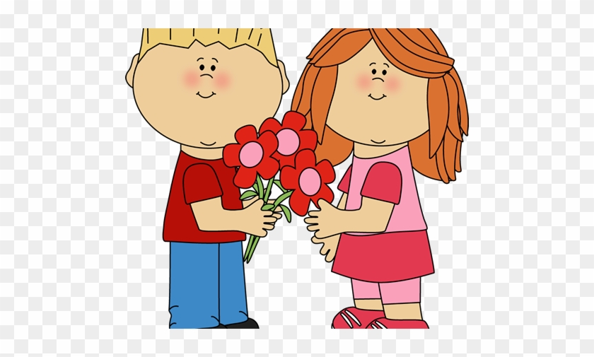 486 X 500 Kids Valentines Day Cards Clipart Free Transparent Png