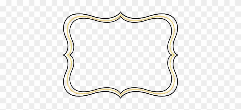 Scroll Shapes Clipart - Shape Border Clip Art #85079