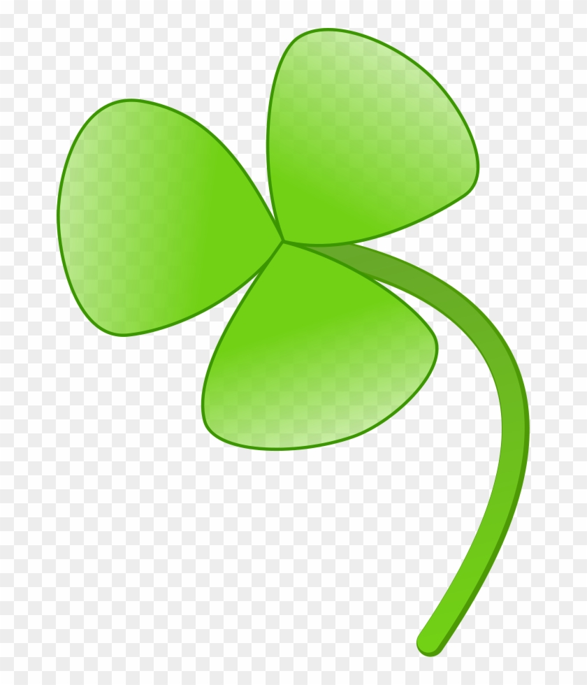 Four-leaf Clover Shamrock Clip Art - Four-leaf Clover Shamrock Clip Art #85157
