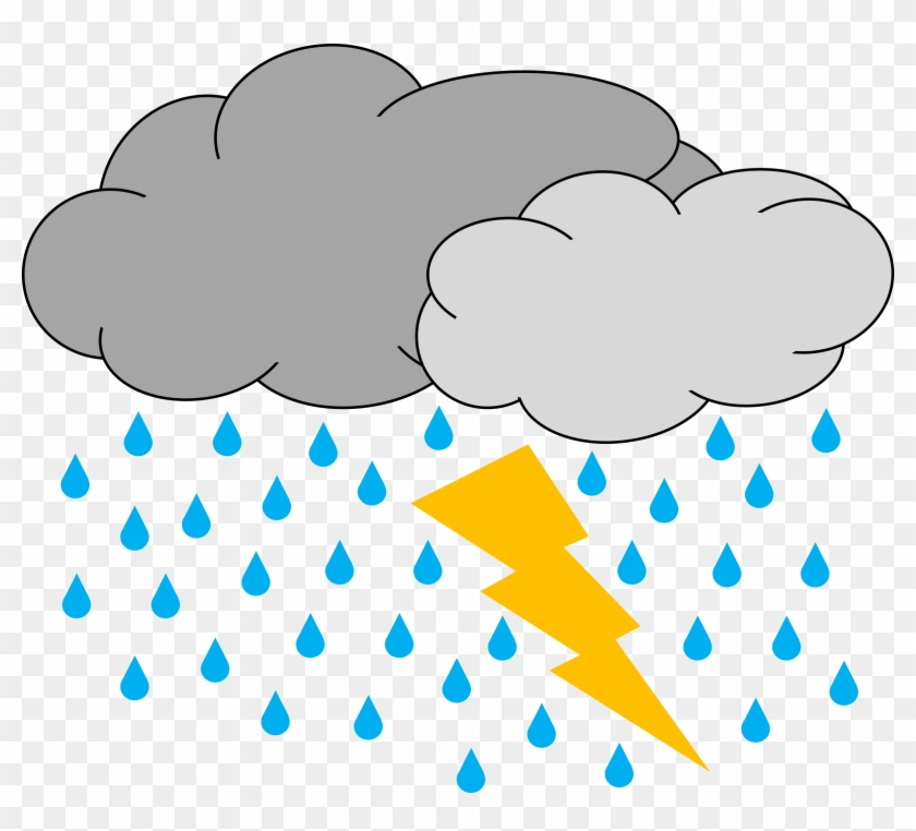 Thunderstorm Png Clipart - Thunderstorm Clipart #85289