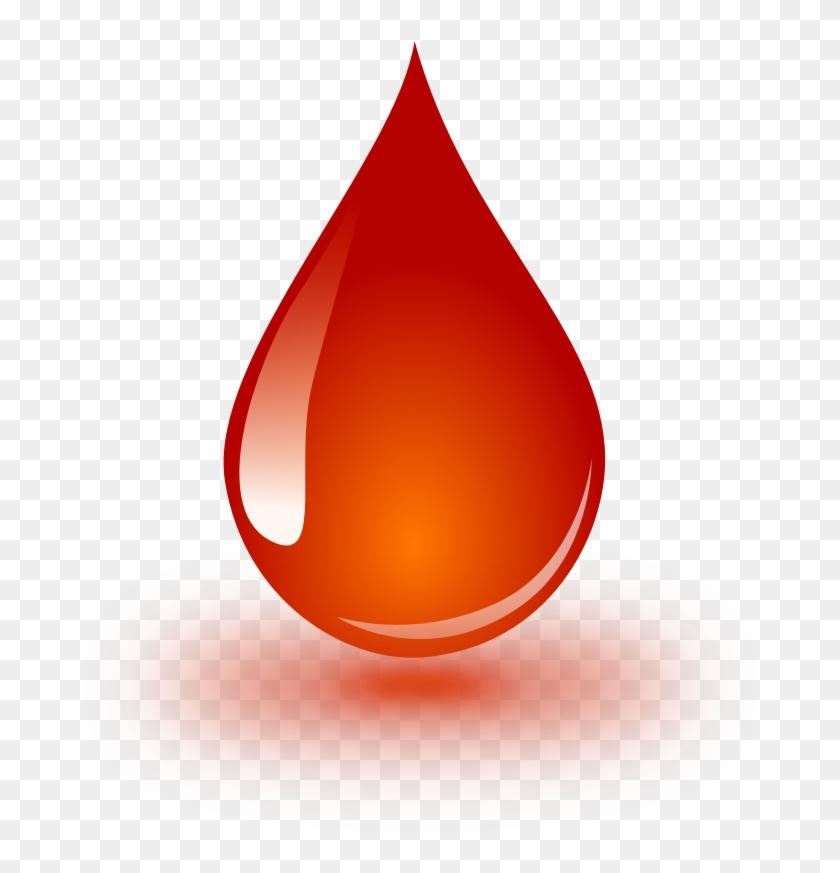 Clipart - Blood Drop - Blood Drop Image Png #85293