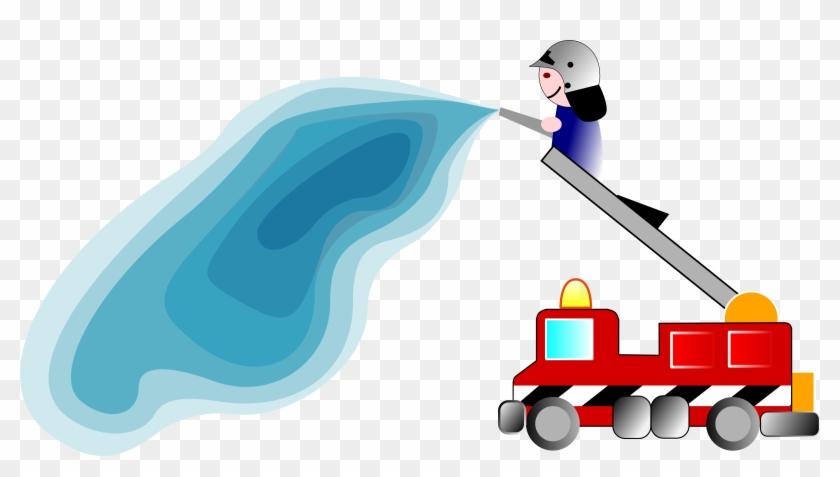 Big Image - Fire Truck Clip Art #85372