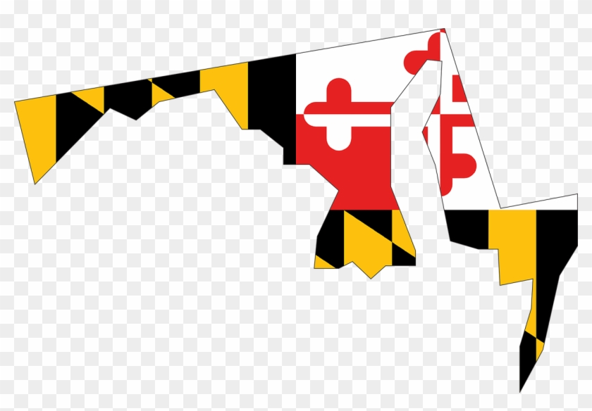 Local Md Wine & Food Pairing - Maryland Flag In State #85377