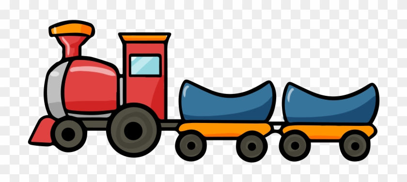 Engine Clipart Transportation - Free Cartoon Train #85395