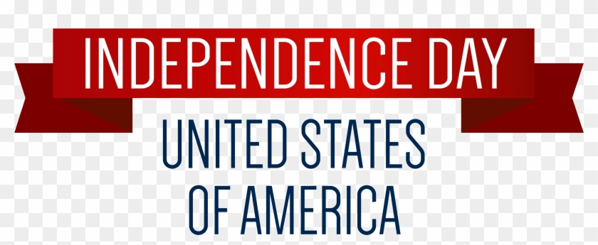 Usa - Happy Independence Day Usa Banner #85434