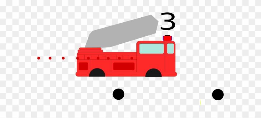 Firetruck Clip Art - Fire Truck Clip Art #85435
