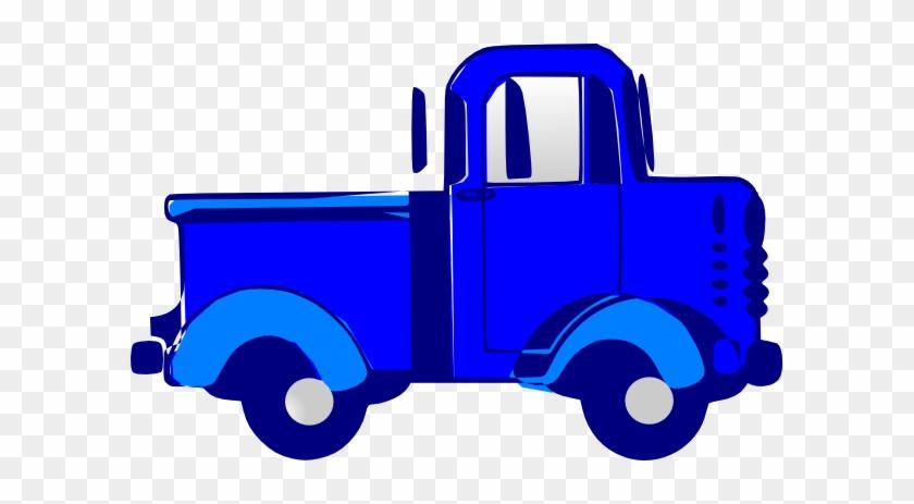 Blue Truck Clipart - Blue Truck Clip Art #85462