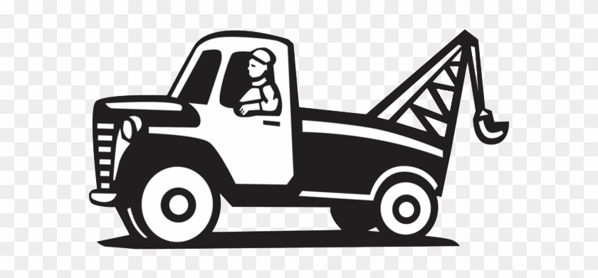 Tow Truck Simple Cartoon Tow Clipart Cliparts And Others - Tow Hook T Shirts #85475