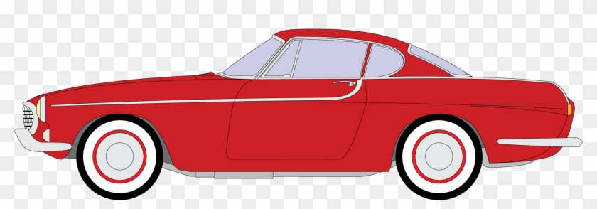 Volvo P1800 Png Clipart - Classic Car #85480