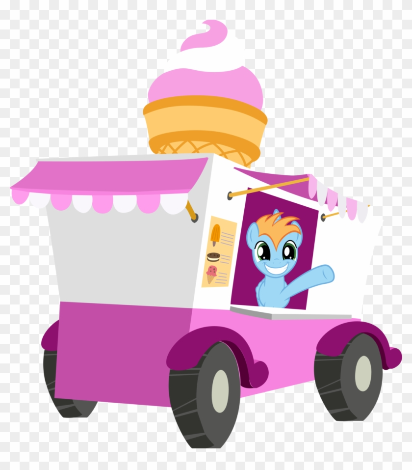 Clipart Info - Ice Cream Truck Mlp #85491