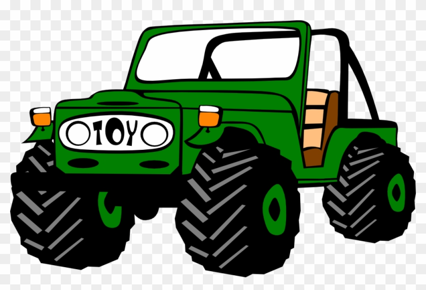 Free Jeep Colombiano Free Toyota Land Cruiser - Clipart Jeep #85527