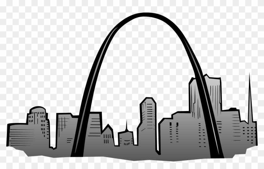 Arch Clipart St Louis Arch - Symbols Of St Louis #85534