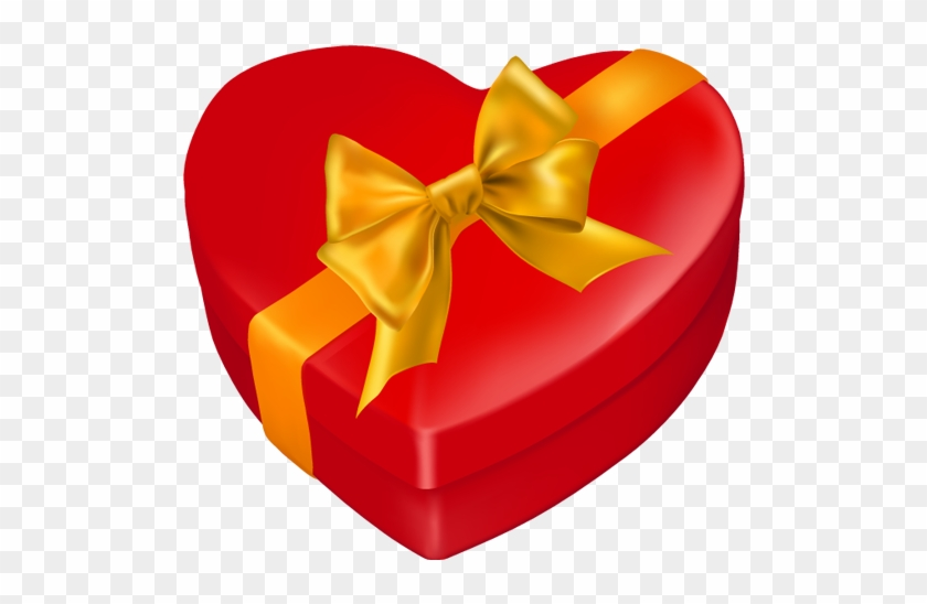 Heart-shaped Gift Box Icon - Gift #85546