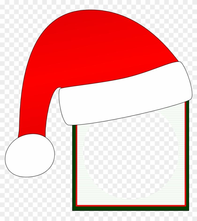 Square Santa Clipart - Santa Claus Frame Clipart #85604