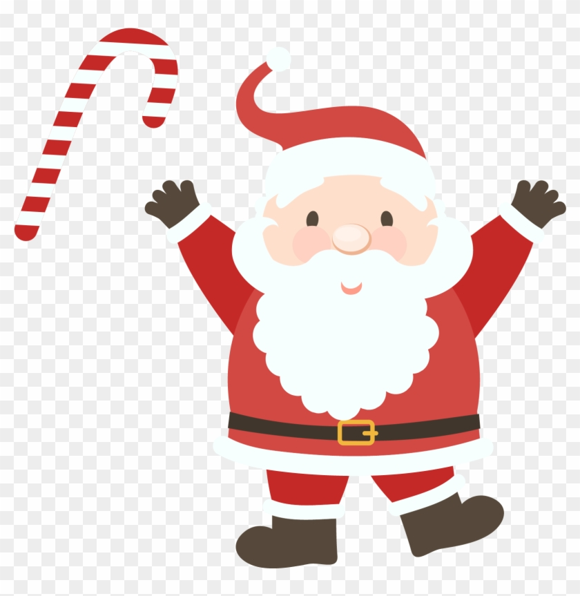 Santa Claus Clipart Png Image 01 - Free Letter To Santa Template #85618