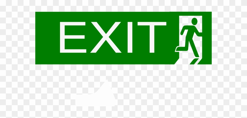 Exit Clip Art - Emergency Exit #85626