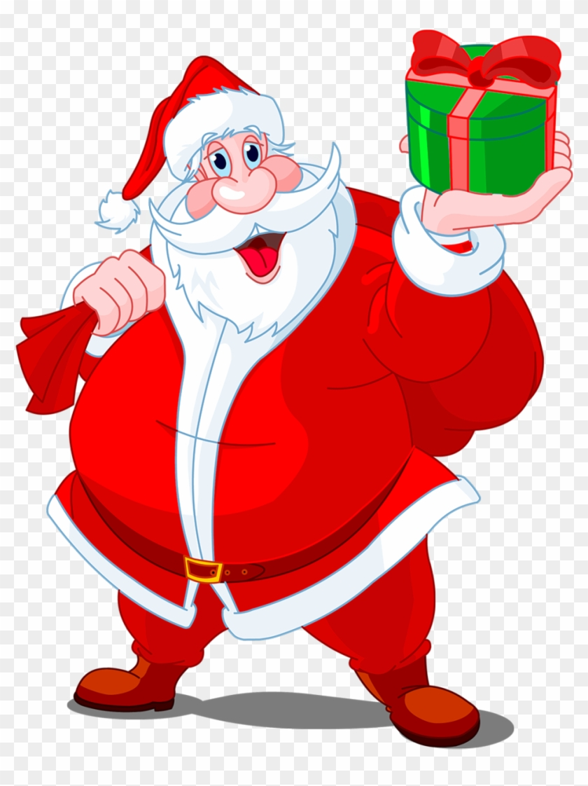 0, - Santa Claus With Bag Of Gifts Shot Glass #85645