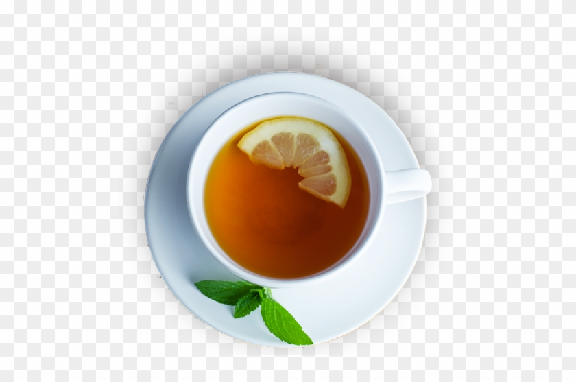 Cup Tea Png - Tea Cup From Top Png #460987