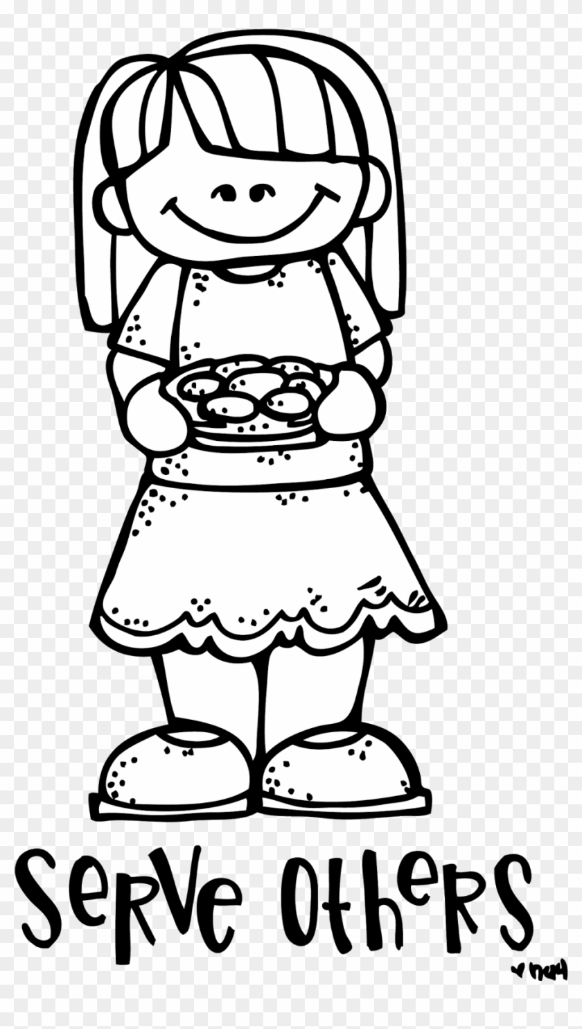Serving Others Coloring Pages Shwepyithu Lds Primary Help Others